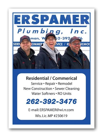 Erspamer Plumbing, Inc.: S47 W30760 State Rd 59, North Prairie, WI