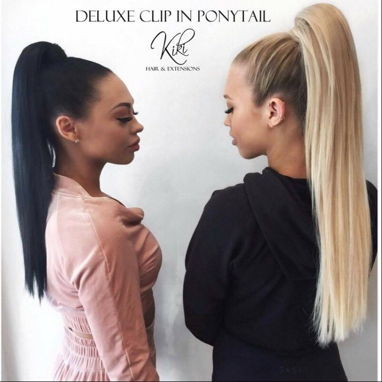 Emilee Tammy Hembrow With Their Deluxe Clip In Ponytails Yelp