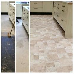 Marvelous Photo Of Bespoke Flooring Solutions   London, United Kingdom. New Vinyl  Flooring In Kitchen