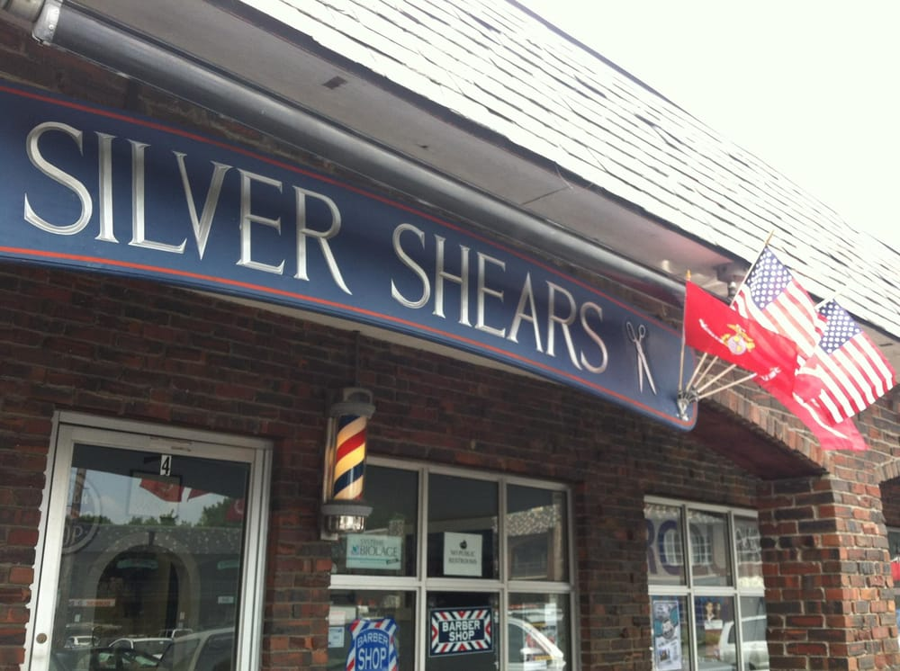 Silver Shears Barber Salon: 4 Bessom St, Marblehead, MA
