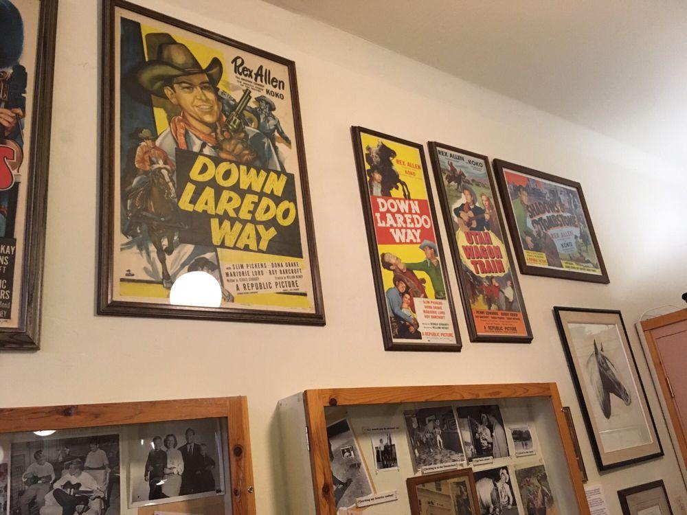 Rex Allen Museum: 150 N Railroad Ave, Willcox, AZ