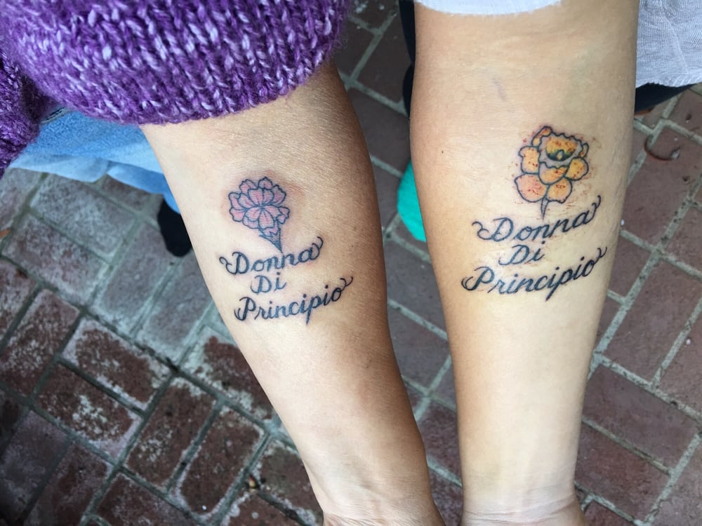 fresh tattoos aunt and niece matching tats by perrin yelp. Black Bedroom Furniture Sets. Home Design Ideas