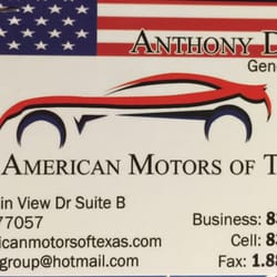 All American Motors Of Texas Car Dealers 3366 Fountain View