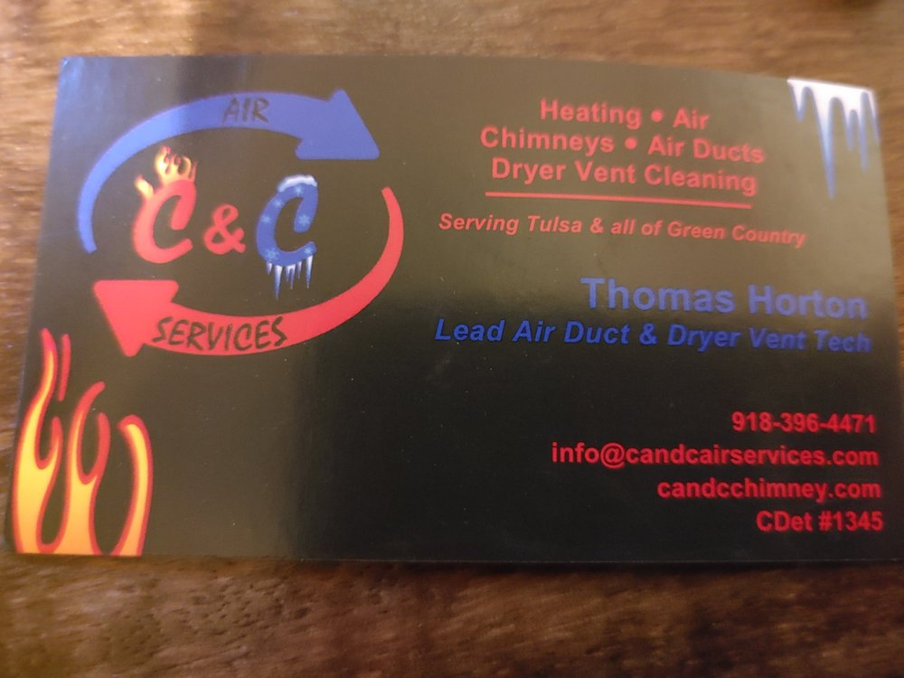 C & C Chimney & Air Duct Cleaning: 4629 W Rogers Blvd, Skiatook, OK
