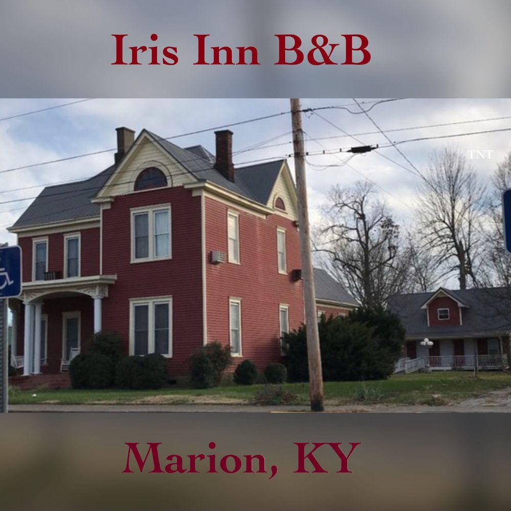 Iris Inn Bed & Breakfast: 124 E Depot St, Marion, KY