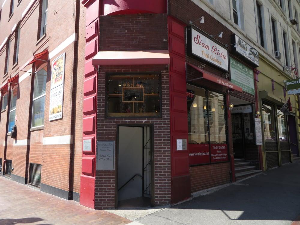 Thai Food Near Financial District Boston