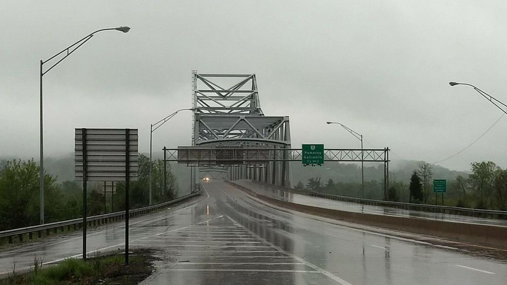 Silver Memorial Bridge: Henderson, WV