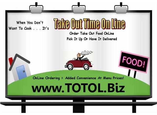 Take Out Time On Line: Sadsburyville, PA