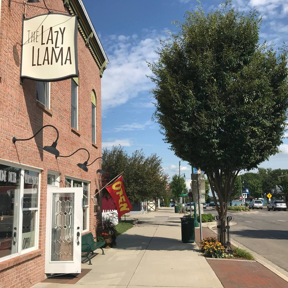 The Lazy Llama: 214 Broadway St, Marine City, MI