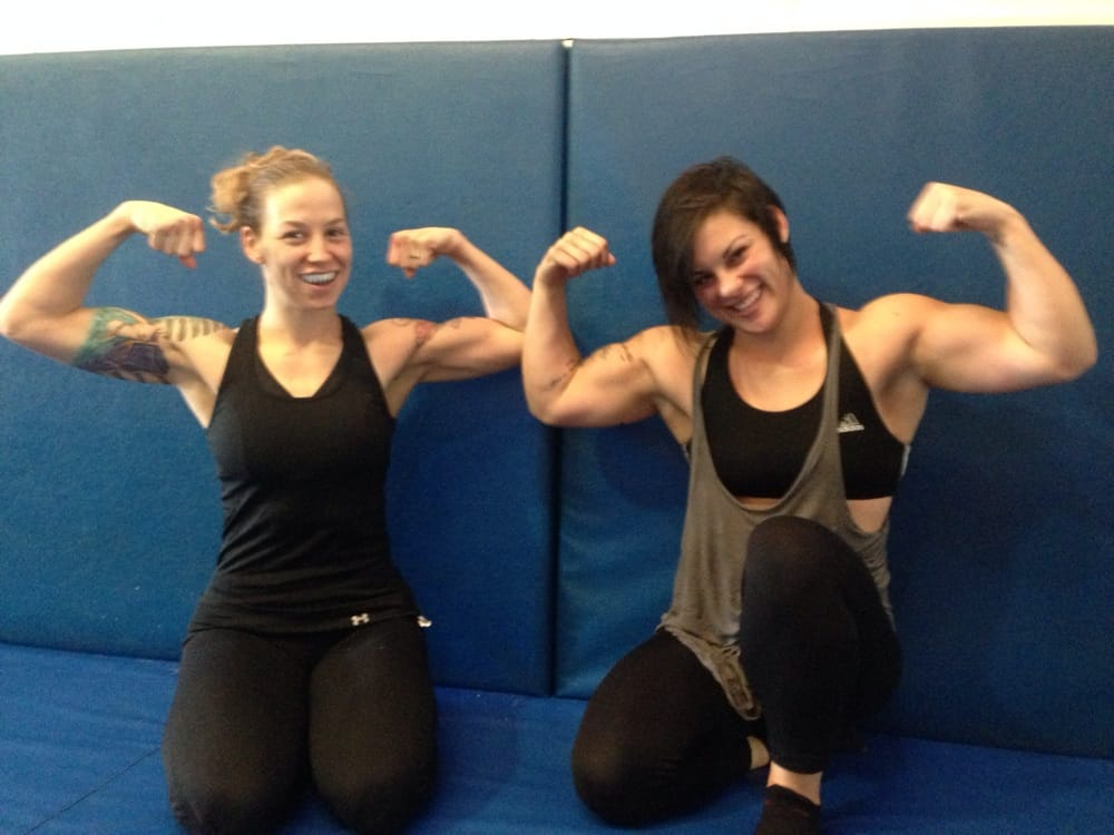 Two Lovely Girls Flexing After Training Some No Gi Yelp