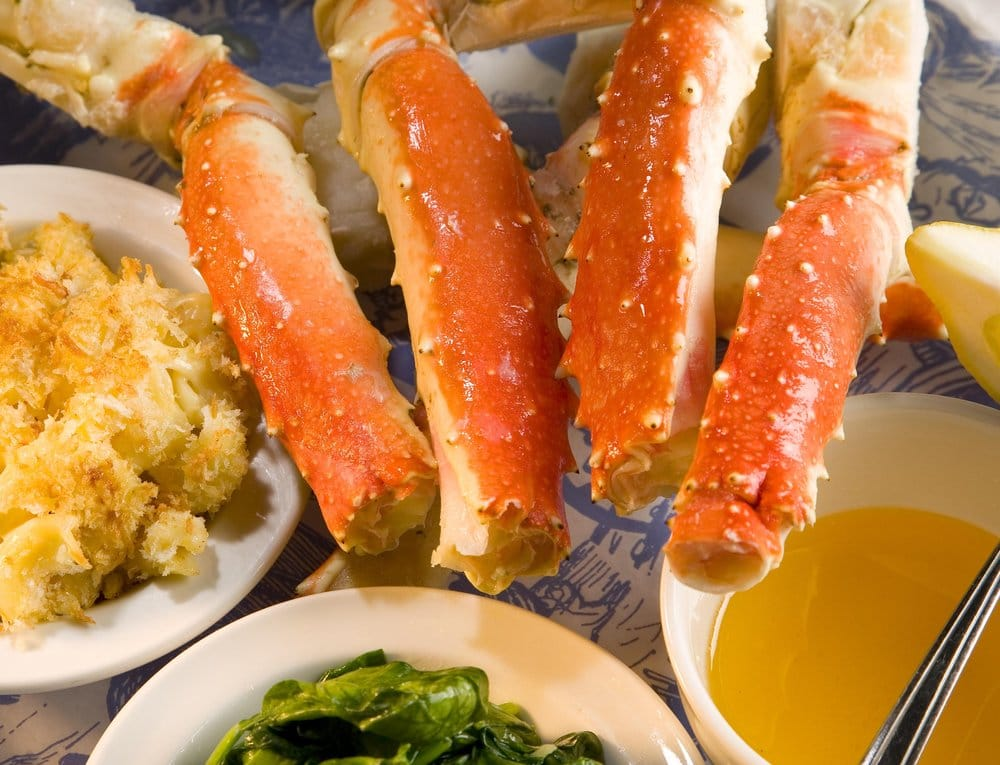 Crab legs yelp for King s fish house mission valley