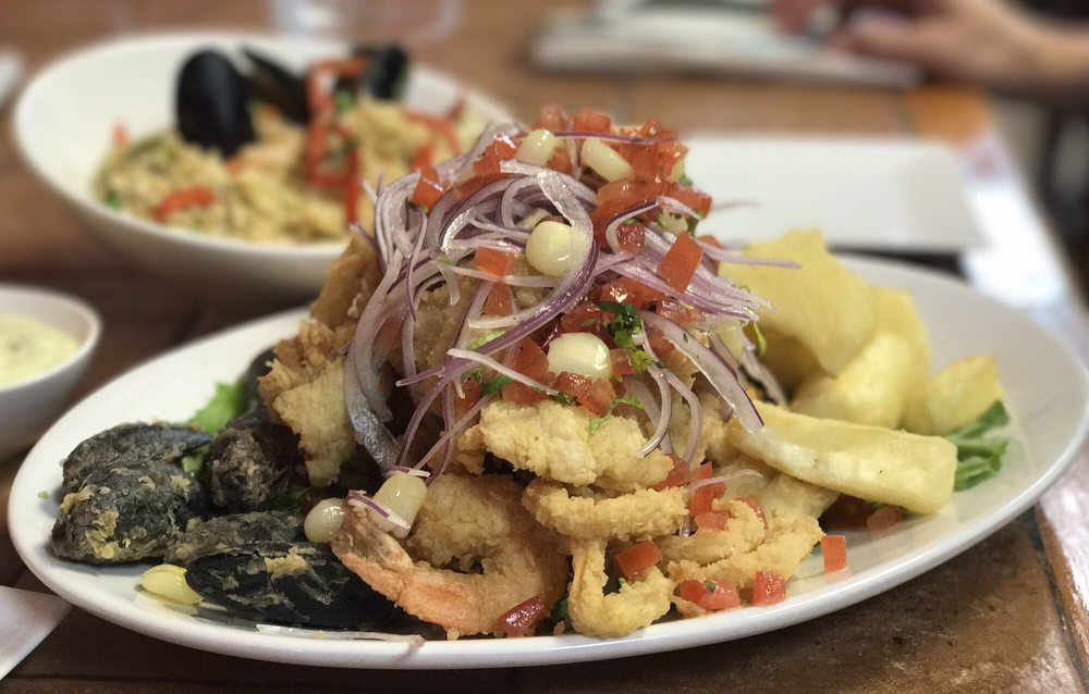 Antojitos Del Peru Peruvian Food