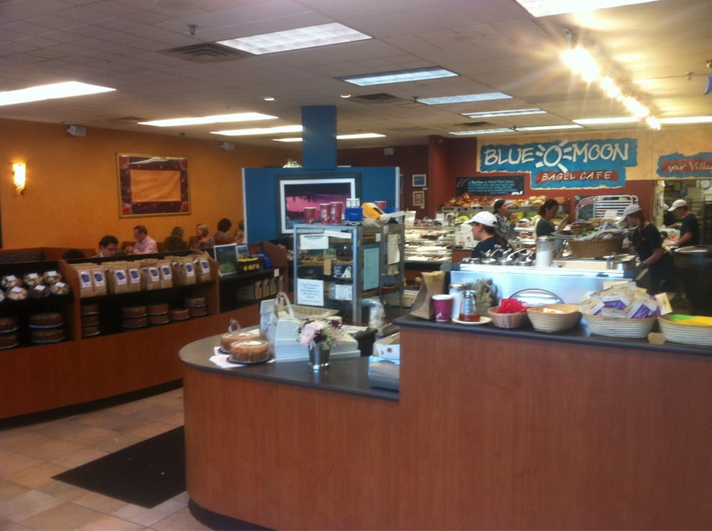 Blue Moon Bagel Cafe Medfield Ma