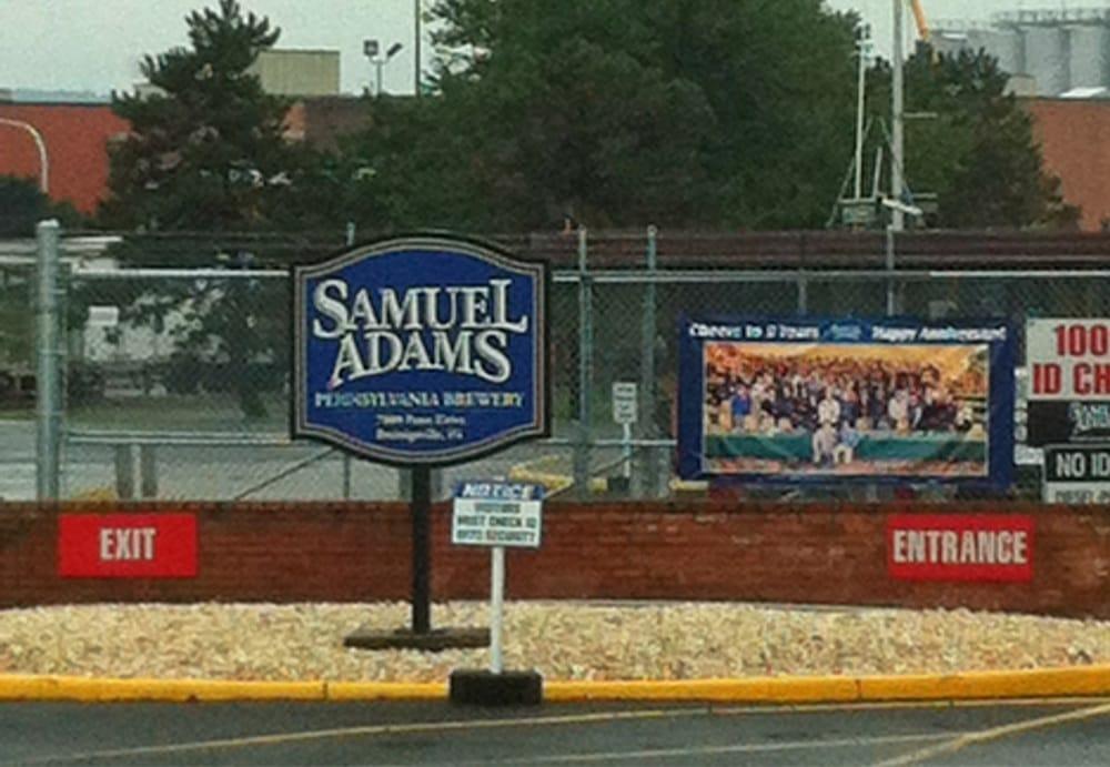 Samuel Adams Brewery: 7880 Penn Dr, Breinigsville, PA