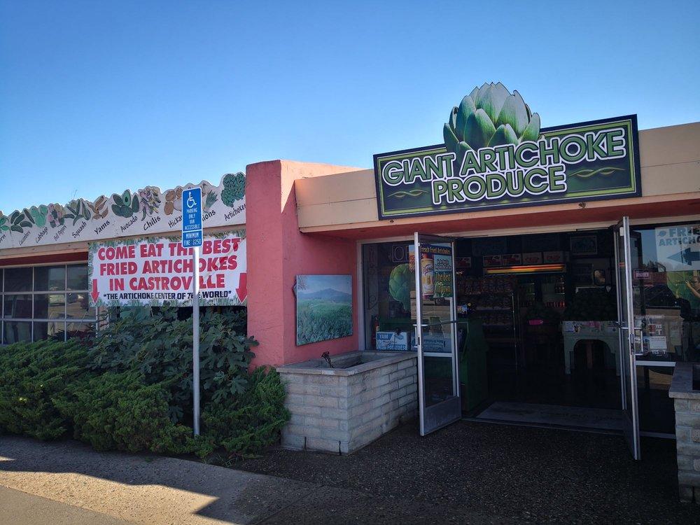 Giant Artichoke Fruits & Veg: 11241 Merritt St, Castroville, CA