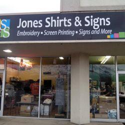 8ee7cb15 Jones Shirts & Signs - 10 Photos - Screen Printing - 424 E 1900th N ...