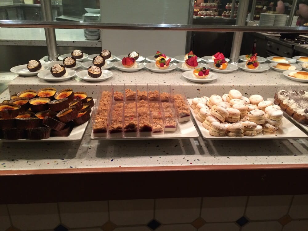 Dessert yelp for Fish buffet near me