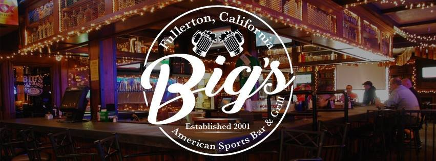 Big's Fullerton: 323 N State College Blvd, Fullerton, CA