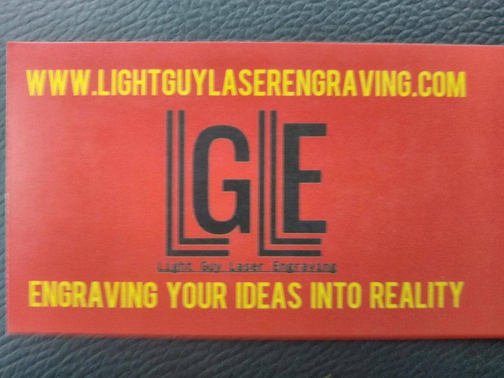 Light Guy Laser Engraving: 692 N Peterson Rd, Muskegon, MI