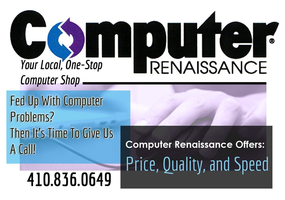 Computer Renaissance: 551 Baltimore Pike, Bel Air, MD