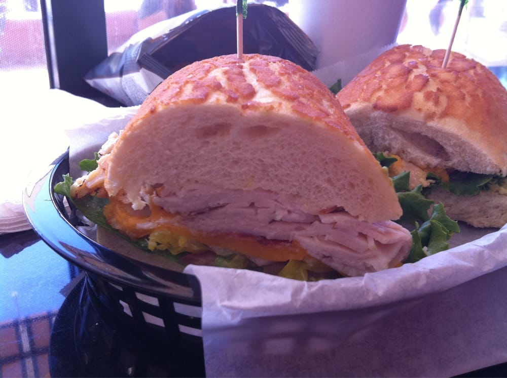 2 the master Mitty  Turkey, bacon, cheddar, avocado  - Yelp