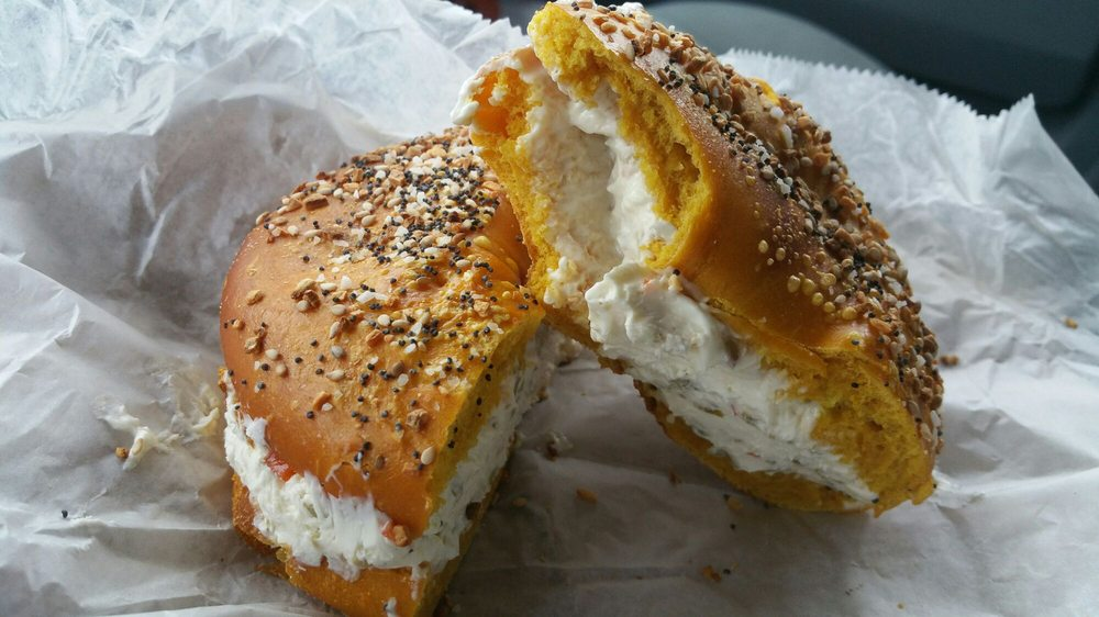 Your Bagel Cafe: 504 Montauk Hwy, Center Moriches, NY