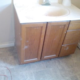 photo of centurion home improvement louisville ky united states bathroom vanity before