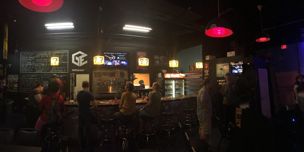 The Geek Easy Bar & Lounge: 114 S Semoran Blvd, Winter Park, FL