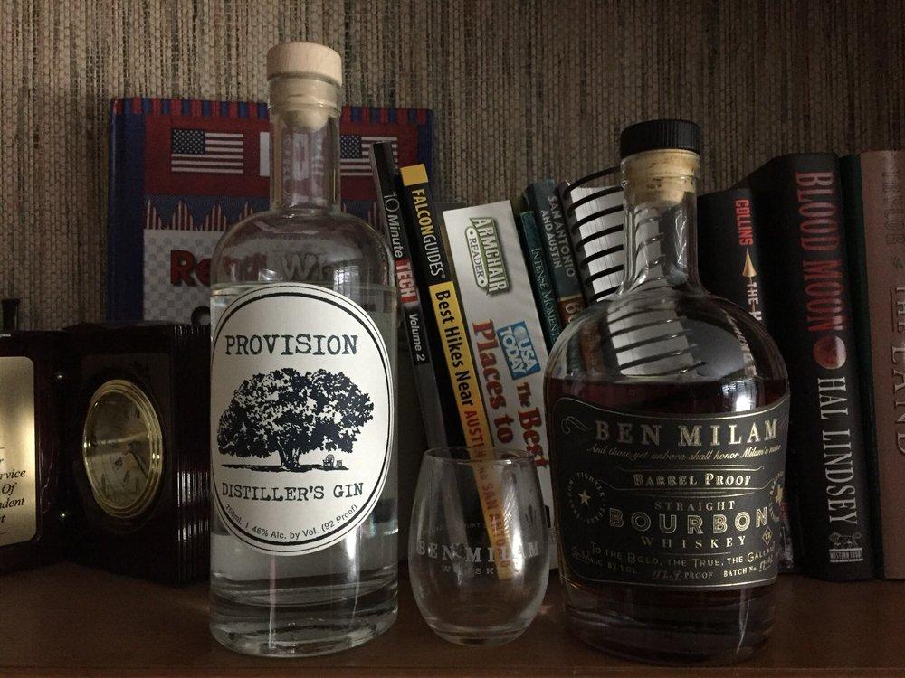 Ben Milam Whiskey: 281 N Blanco, Blanco, TX