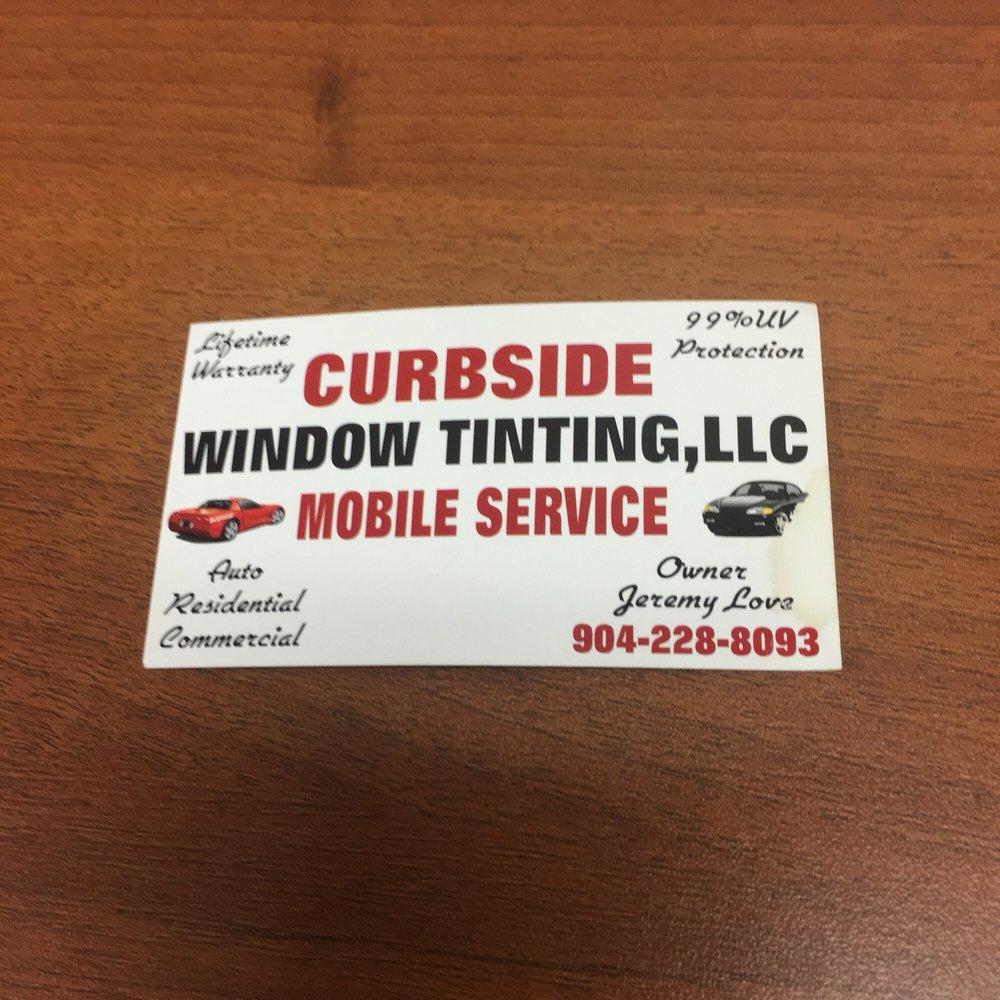 Curbside Window Tinting: 2705 Hands Dr, Green Cove Springs, FL