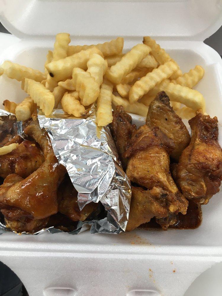 J & J Wings Cafe: 128 Greenville Blvd SW, Greenville, NC