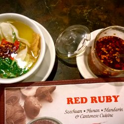 Photo Of Red Ruby Restaurant Dearborn Heights Mi United States Wonton Sour