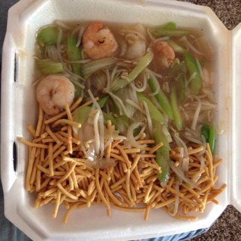 Photo Of Pho Ben Restaurant Edmond Ok United States Shrimp Chow Mein