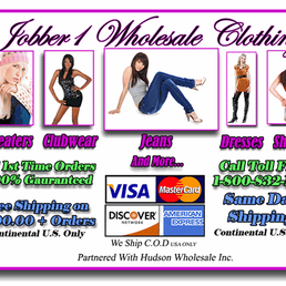 Us Wholesale Clothing Distributors