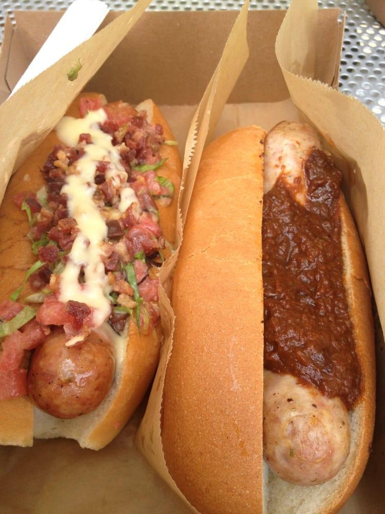 Chez Pascal Hot Dog Cart: Lippit Park, Providence, RI