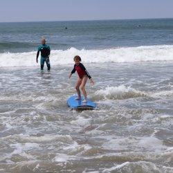 Photo Of Surfboard And Bike Als Huntington Beach Ca United States
