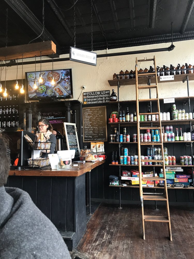 Social Spots from Underground Coffee & Ales