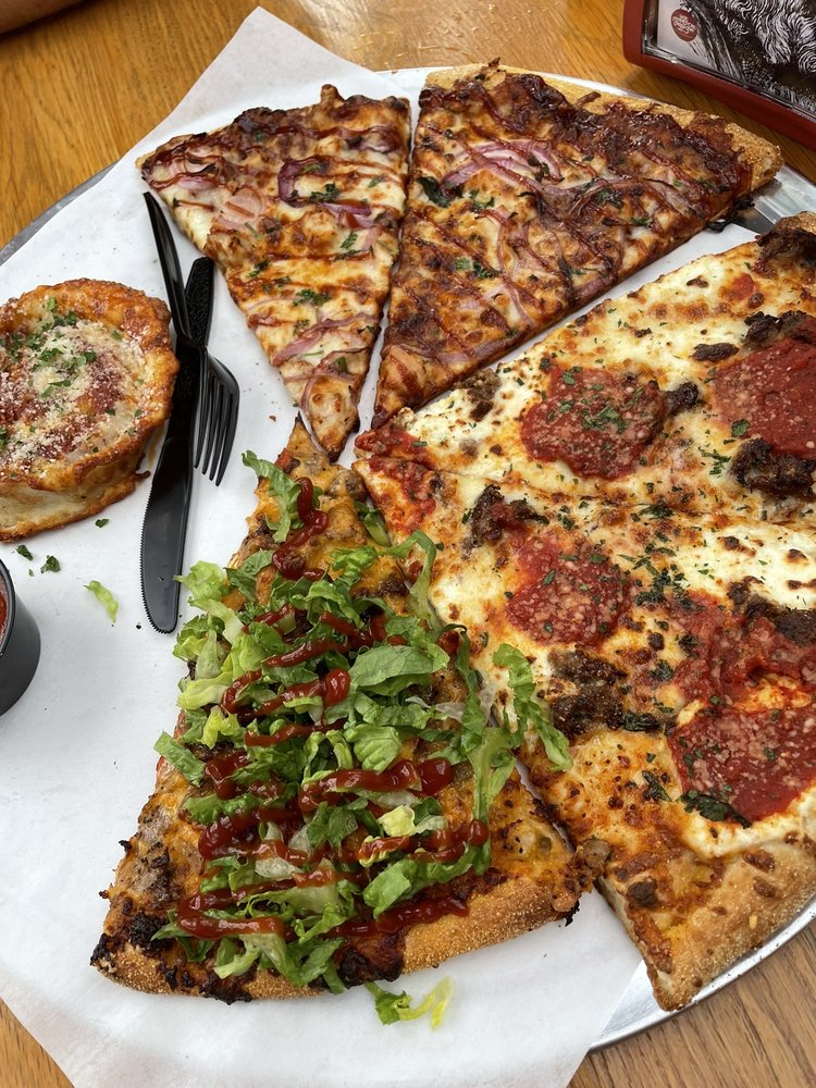 Food from Sgt Peppperoni's Pizza Store