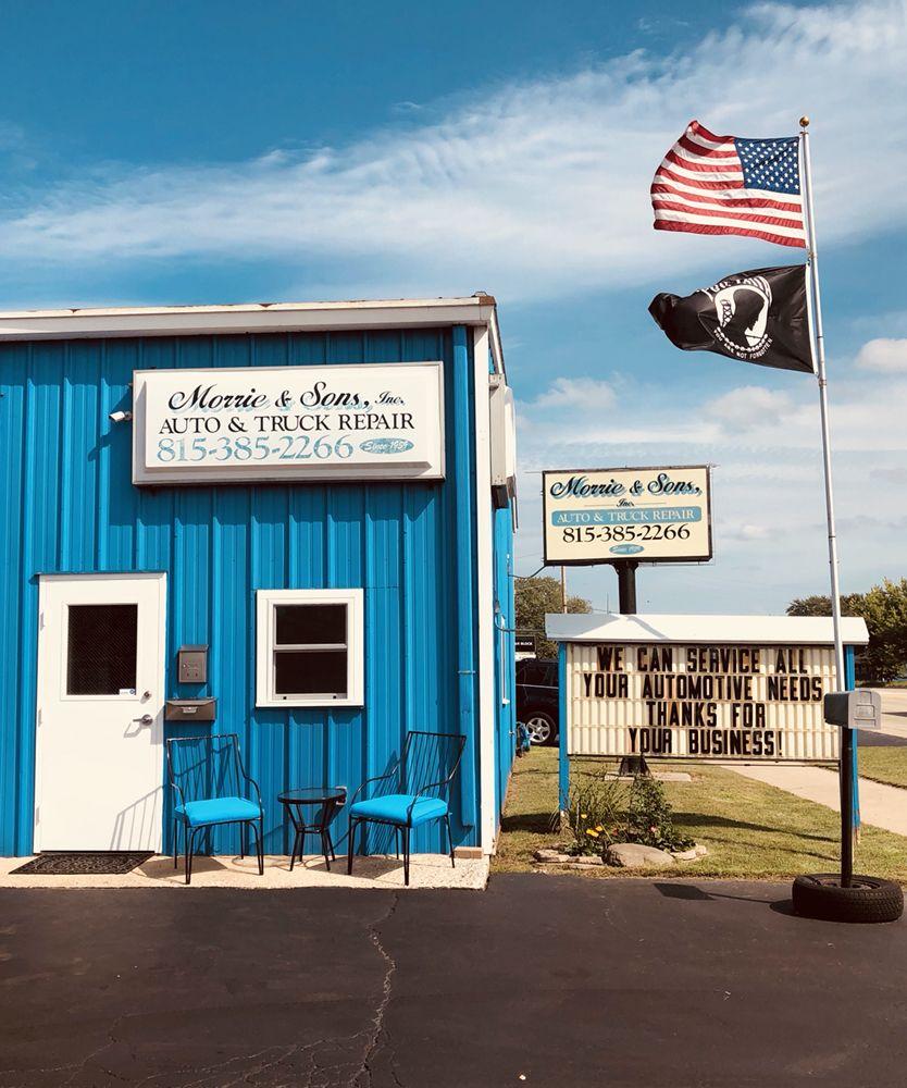 Morrie & Son's Auto Repair: 5110 W Elm St, McHenry, IL