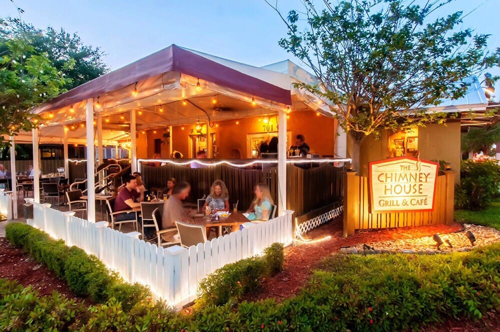 The Chimney House - Grill & Cafe: 701 W Las Olas Blvd, Fort Lauderdale, FL