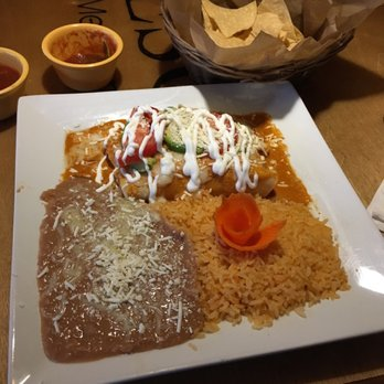 Photo Of Tesoro Fine Mexican Restaurant Turlock Ca United States Chipotle Enchilada