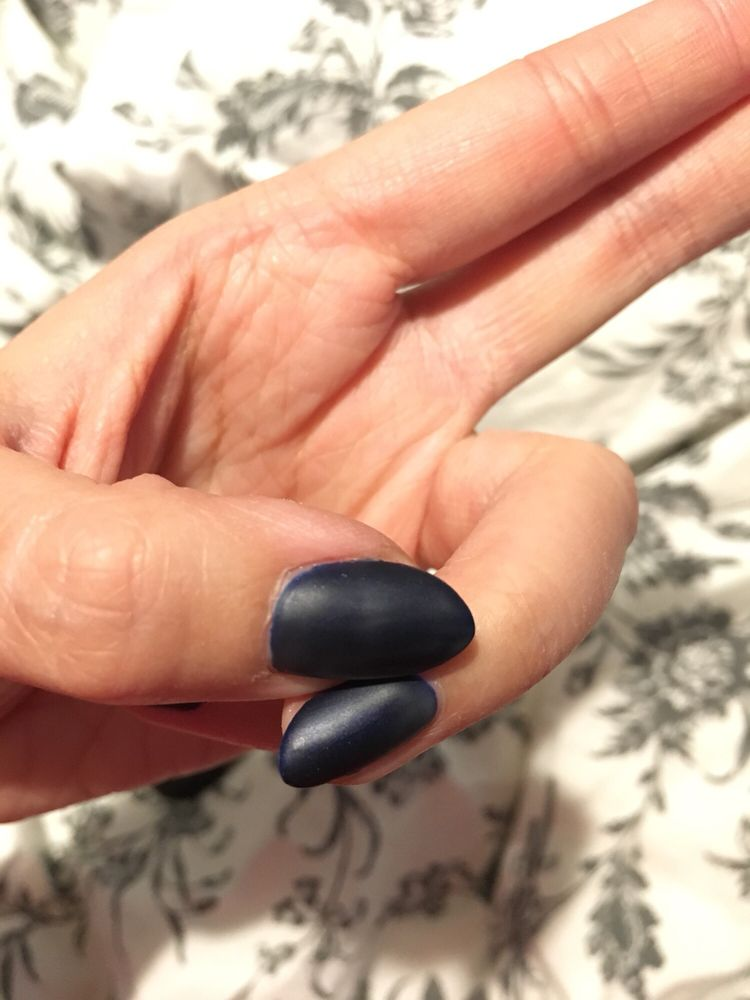 Discolored from wrong matte top coats- 6 top coat layers, 3 ...
