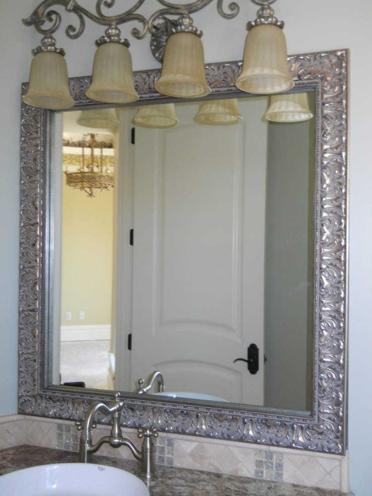 Photo Of Reflected Design   Herriman, UT, United States. Bathroom Mirror  Frame,