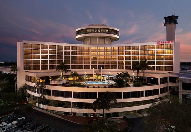 Tampa Airport Marriott: Tampa International Airport, Tampa, FL