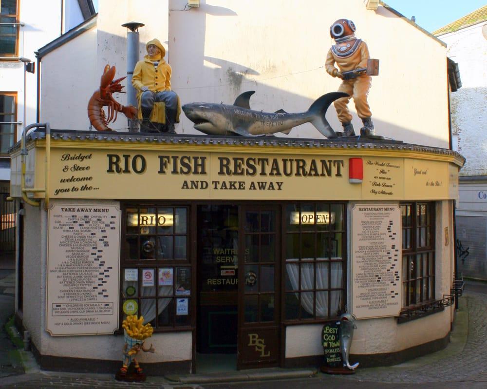 Rio Fish Cafe - Fast Food - Brixham, Torbay, United ...