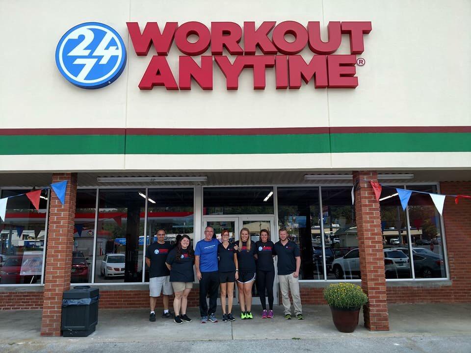 Workout Anytime - Corbin: 1019 Cumberland Falls Hwy, Corbin, KY