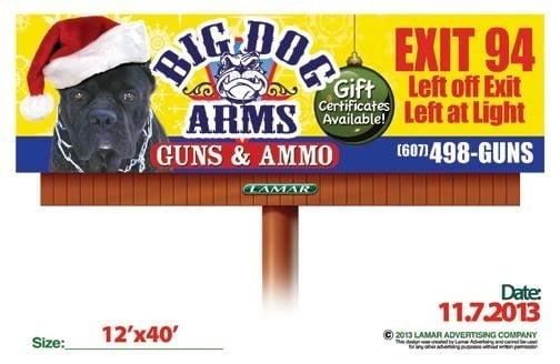 big dog arms