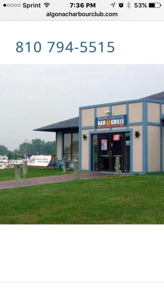 Harbor Club Bar & Grill: 1999 Pointe Tremble Rd, Algonac, MI