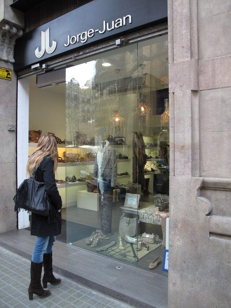 jorge juan magasins de chaussures carrer de val ncia 241 l 39 eixample barcelone barcelona. Black Bedroom Furniture Sets. Home Design Ideas
