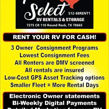 Photo Of Texas Select RV Rental Storage